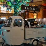 Espressomobil auf einem Event