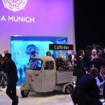 Espressomobil auf einer Messe