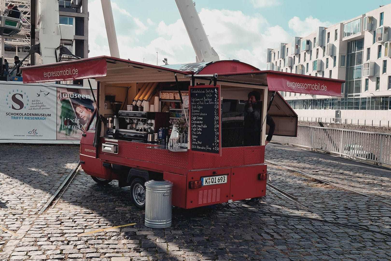 Espressomobil im Rheinauhafen