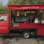 Espressomobil im Park